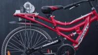民间牛人又来秀技术, 花费300元把自行车改装成电动车