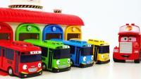 TAYO泰路巴士小汽车 工程车大卡车玩具