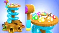 宝宝益智玩具快乐敲击大树滑滑梯儿童英语abc少儿英语abc