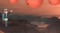 """如果站在比邻星的""""地球""""上, 你将看到真实存在的三体"""