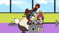王者荣耀搞笑小动画: 健身? 当然是为了刷朋友圈啊!