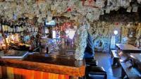 世界上最有钱的酒吧, 墙上贴了几千万钞票, 人人都能取走?