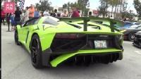 兰博基尼 Aventador SV  lp700-4 两大公牛绿色 Cars