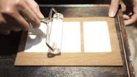 家用简易造纸机, 用废纸购物小票当材料, 自己在家就能造纸