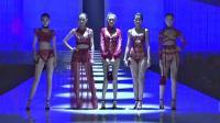 中国风内衣秀 中国红与剪纸窗花的结合