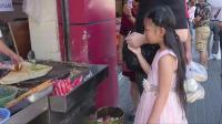 上海静安区吃早餐, 5元一个的煎饼果子, 到上海去吃煎饼果子?