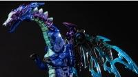 小津的变形金刚玩具视频—官方BW超能勇士蓝龙(零度大师)