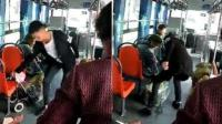 公交司机因老人动作慢 竟将其物品强扔车外