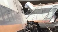 摩洛哥北部发生火车脱轨事故 已致6死 86伤
