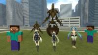 GMOD游戏初音未来能不能打败机器人
