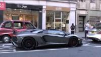 街头拍摄超级跑车这声音绝对充满整个城市