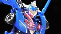 """好""""蓝""""人就是他 他就是鹰帅 铠甲勇士可动变形套装【玩家角度】"""