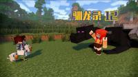 甜萝酱我的世界 Minecraft《生活大冒险之驯龙录》冰与火之歌多模组生存#12  一击秒龙?