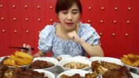 大胃王密子君泰国印度尼西亚肉骨茶全都十碗