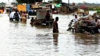 强热带风暴席卷印度部分村庄被淹