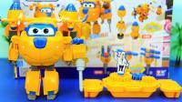 超级飞侠变形玩具 工程师多多玩具套装