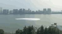 钱塘江现漩涡状水涌 网友: 白娘子镇不住了