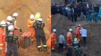 郑州一男童坠入20米深井身亡 母亲崩溃痛哭