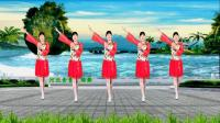 90年代怀旧金曲《涛声依旧》伤感优美, 32步广场舞好学好看, 河北青青广场舞