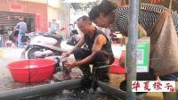 农村的罗非鱼真好卖, 又是一个老顾客要买3条, 总共不超100块