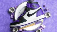 【ITAKE】Air Jordan 1「Court Purple」