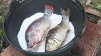 鱼这样的吃法才叫爽, 一口气吃2条, 太香了