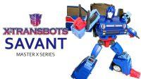 KL变形金刚玩具分享361 X-Transbots SAVANT 刹车