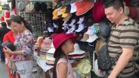 上海城隍庙, 大神和桐桐买帽子, 你看哪个帽子更适合桐桐?
