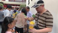 上海城隍庙, 35元一杯的泰芒, 有芒果肉、芒果冰沙, 还有芒果汁