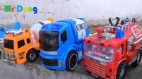 发现汽车公交车和工程车玩具, 婴幼儿宝宝玩具游戏视频B868