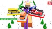 染色池与旋转停车塔上的搅拌车 家中的美国学校