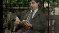 憨豆先生: 看到憨豆自制三明治, 路人懵了, 他身上有哆啦A梦的口袋吗