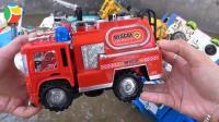汽车挖掘机和工程车玩具试玩, 婴幼儿宝宝玩具游戏视频B868