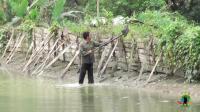 在老挝租了一大块地, 才一万块钱一年, 中国老哥一年能赚多少?