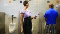 一个小发明, 让女人可以站着上厕所, 再也不用排长队