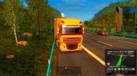 欧洲卡车模拟2: 在重庆开着卡车拉货经过了小泉隧道