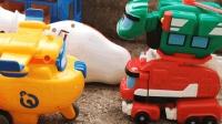 帮帮龙机械恐龙出动, 制作糖果食玩小模型