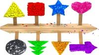 美味糖果工厂各种圣诞糖果快乐生产快乐学习形状英语儿童英语少儿英语abc