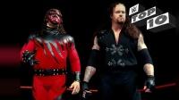 WWE最令人恐惧的势力 凯恩送葬者所组成的毁灭兄弟 十大高亮瞬间