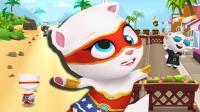 汤姆猫跑酷: 超级安吉拉剐蹭30次障碍物