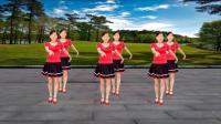 玫香广场舞《毛主席的话儿记心上》经典红歌 , 40步有分解教学