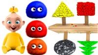 少儿英语儿童英语合集儿童玩具糖果工厂可爱宝宝毛毛小球