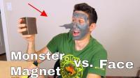 男子网上卖了一块钕磁铁, 试了一下效果, 这吸力真是超乎想象