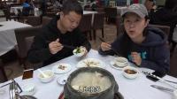 在西藏吃正宗石锅鸡, 480元一小锅还加了松茸, 汤都被我们喝完了