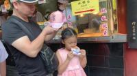 """上海城隍庙, 12元一个的""""海棠糕"""", 尝了一口感觉自己被坑了"""