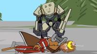 王者荣耀搞笑小动画: 好背哦! 孙悟空肯定是被衰神附体了