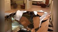 现场: 同学聚会突然地板塌陷