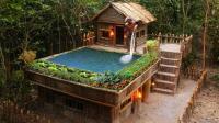 原始技术, 庇护所上加盖空中游泳池, 户外生活也能很享受!