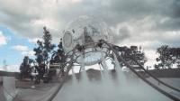 小伙5个消防水泵当燃料, 用气球模拟火箭飞天, 网友: 梦想太丰满