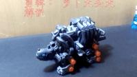 骨格复原 索斯机械兽zoids ZW05加农炮龟-萝卜吐槽番外模玩分享